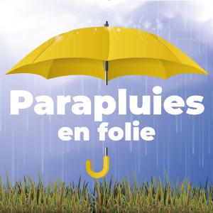 Parapluies en folie chez France Marquage Concept