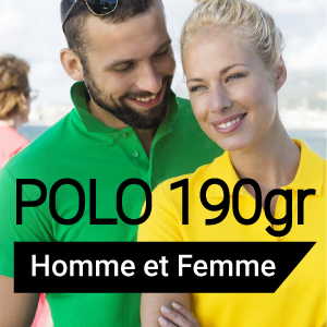 Promo sur le polo chez France Marquage Concept