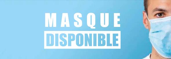 Masque jetable ou réutilisable FFP2
