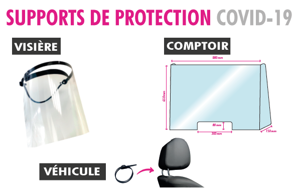 SUPPORTS DE PROTECTION